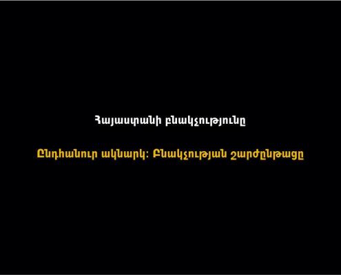 Հայաստանի բնակչությունը