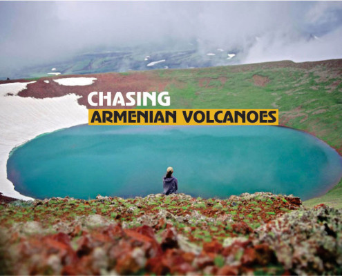 armenian volcanoes