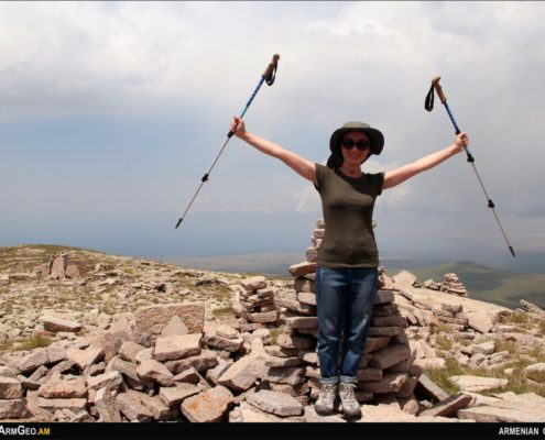Hiking in Armenia