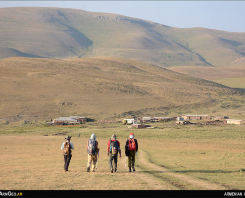Ծարասար, Հայաստանի լեռները