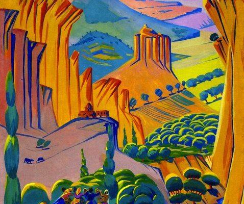 Մարտիրոս Սարյան, Հայաստան (1923)